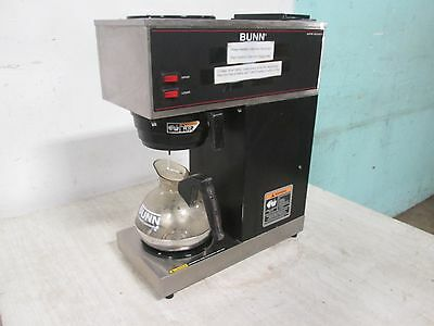 """""""BUNN VPR"""" H.D. COMMERCIAL S.S. """"POUR OVER"""" COFFEE BREWER, w/2 WARMERS + 1 POT"""