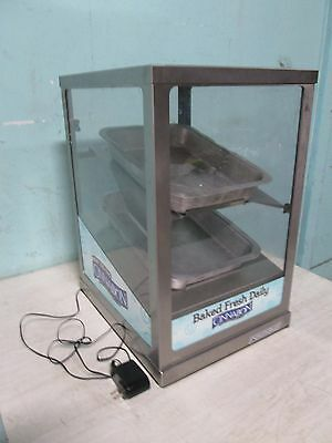 """""""round-Up"""" Commercial H.d. Lighted Bakery Counter-Top Merchandiser/display Case"""