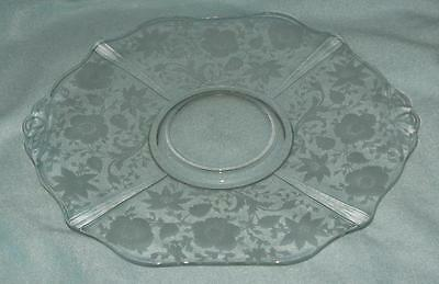 Cambridge Wildflower Serving Plate with Handles
