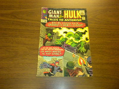 TALES TO ASTONISH #69 Marvel Comics 1965 Hulk and Giant-Man SILVER AGE