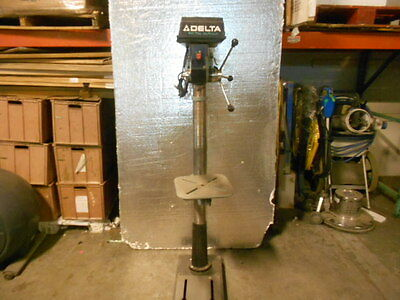 "DELTA 17-900 17"" Drill Press w/Delta 1312023 1/3 HP Motor WORKING Great Deal"