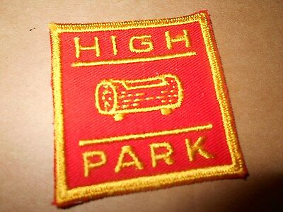 (Xv3-J)  High Park  Ontario  H6A  Unused   Canadian Scout Badges