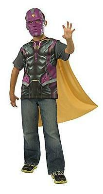 Rubie's Costume Avengers 2 Age of Ultron Child's Vision T-Shirt/Cape and Mask