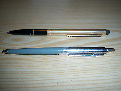 Vintage Papermate Eraser Mate Pen & Papermate Pen Both Have Two Hearts