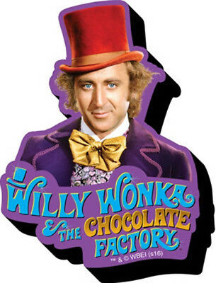 Willy Wonka and the Chocolate Factory Figure Chunky 3-D Die-Cut Magnet NEW