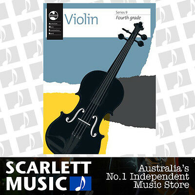 AMEB Violin Series 9 (Nine) - Grade 4 Book (Grade Four) *BRAND NEW*