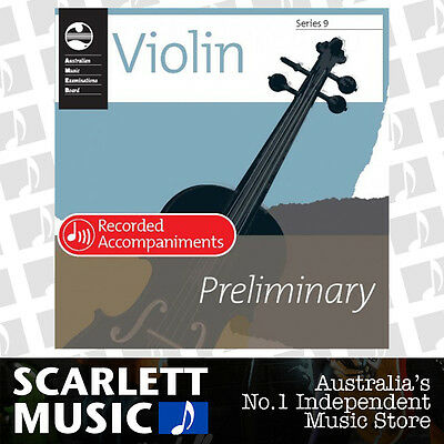 AMEB Violin Series 9 Grade Preliminary Recorded Accompaniments CD