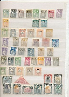 Early Portugal stamp collection colonies Guine Timor s tome e principe Nyassa