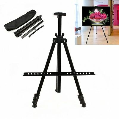 Steel Tripod Easel Display Stand Drawing Board Artist Sketch Painting Adjustable