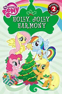 My Little Pony: Holly, Jolly Harmony by D. Jakobs (English) Paperback Book Free
