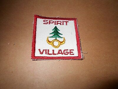 (Xy6-J) Spirit Village   Ontario S22A   Canadian Scout Badges