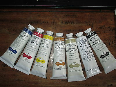 10 DALER ROWNEY ARTISTS OILS 38 ml