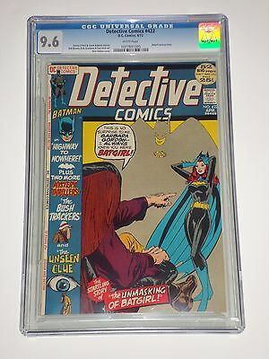 Detective Comics #422 (Apr 1972) CGC Graded 9.6 Neal Adams Batgirl Cover