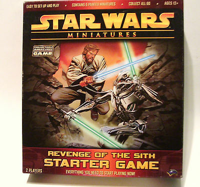 2005 Star Wars Revenge of the Sith Starter Game Miniatures