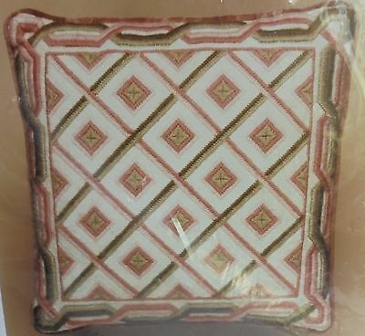 The Coleshill Collection - Weaving Chains - Tapestry Kit - Cushion Front