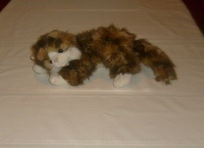 """Jumbles Ty 2004 Classic Beanie Baby Plush Stuffed Cat 14""""  Calico Color Toy"""