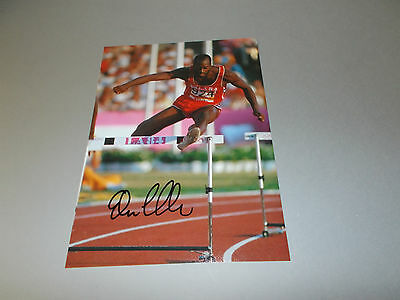 Edwin Moses Gold 1976 400 Hürden signed signiert  Autogramm 20x28 Foto in person