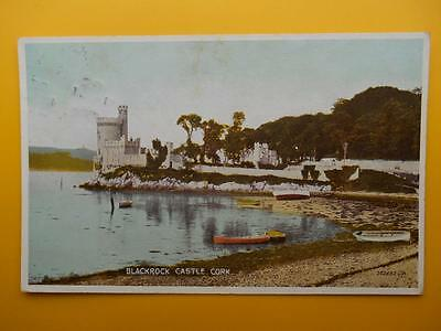 BLACKROCK CASTLE County Cork Ireland 1936 Stamp & Postmark