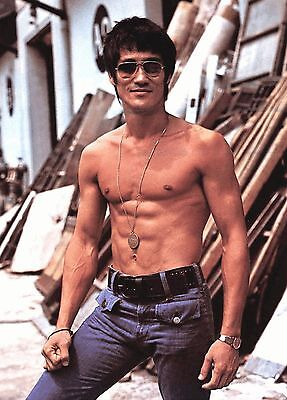 Great  Looking  Bruce  Lee  8 X 10  Photo  Reprint