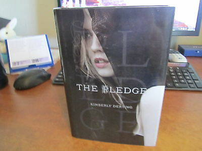 The Pledge by Kimberly Derting Hardcover Book (English) FREE U.S. SHIPPING