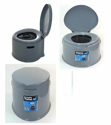 5l Portable Toilet Compact Potty Loo Camping Caravan Picnic Potty Training