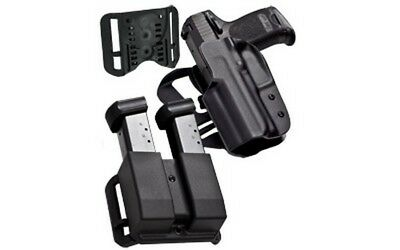 Blade-Tech HOLX0086IDPAPKO0502BLK IDPA Competion Pack For Glock 34/35 RH Holster
