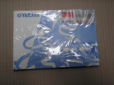 Yamaha 600 YZF600 YZF600R Thundercat Aug 99 genuine owners manual 4TV-28199-E4