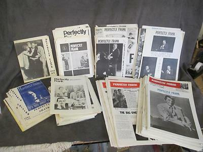 1962-1979 98 Issues PERFECTLY FRANK JOURNAL OF THE SINATRA MUSIC SOCIETY kc3