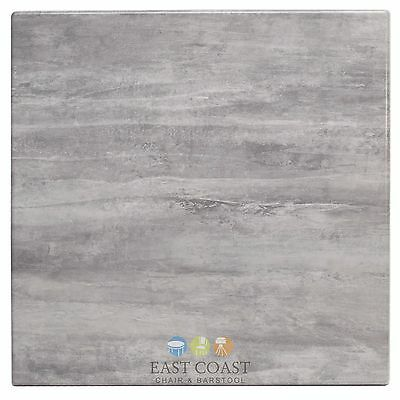 """New 32"""" x 48"""" Rectangle Isotop Plus Table Top in Cement"""