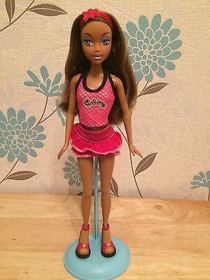 My Scene Madison Westley Heartbreakers Barbie Doll Mattel Very Rare 2 Outfits