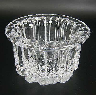 Hadeland Glas Schale Serie Atlantic Willy Johansson Design 1971 Norway 13,3cm
