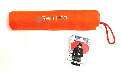 Rain Pro Compact Compact Manual Umbrella with Rubber Comfort Handle