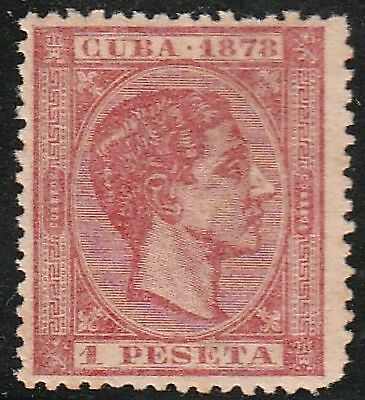 1878 Caribbean Stamps Sc 81  King Alfonso Spain   NEW