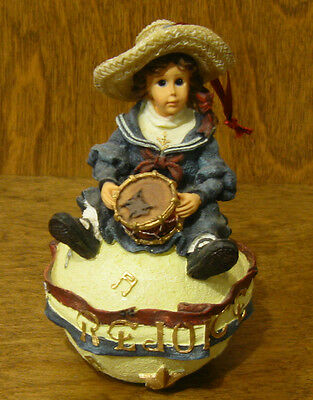 "Boyds Dollstone Ornament #25854 BETSY...THE PATROIT, 4.75"" NIB From Retail Store"