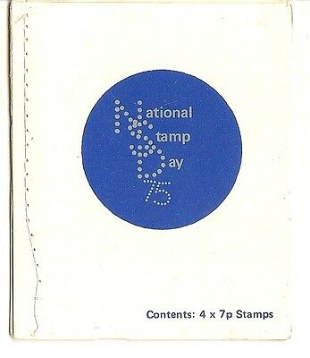 GB 1975 National Stamp Day Booklet