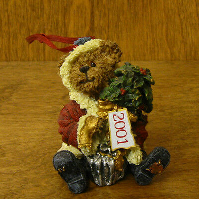 Boyds Ornament(s) #25752 MR BAYBEARY...2001 WISHES, NIB From Retail Store 2.5""