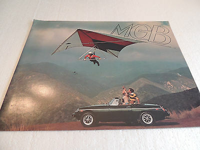 1976 MG , MGB,  Catalogue Brochure USA Mkt. Scarce