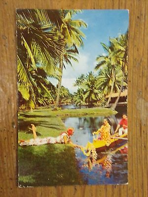 Vintage Postcard Coco Palms Resort Hotel, Kauai, Hawaii