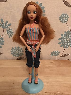 My Scene Kenzie Miami Getaway Barbie Doll Mattel Rare Ball Joint