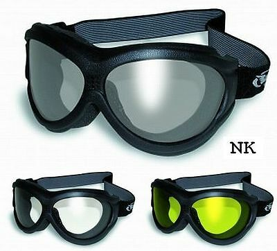 Flexible Anti-Fog Motorcycle Goggles-Fit Over RX Prescription Glasses Fitover