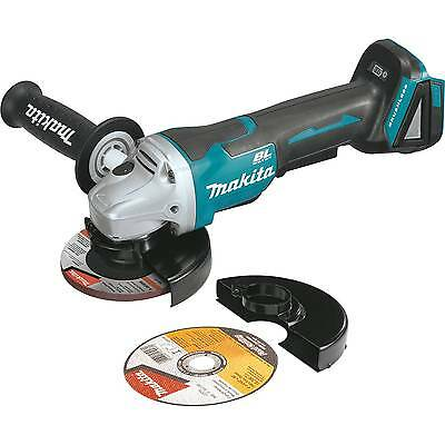 "Makita XAG10Z 18V Cordless 4_1/2"" Paddle Switch Cut_Off/Angle Grinder, Tool Only"