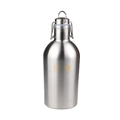 Ultimate 2 L Litre 304 Stainless Steel Growler 40psi Home Brew Beer