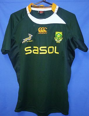 "South African Rugby Union Springboks Official Jersey Shirt 44"" Men XL Canterbury"