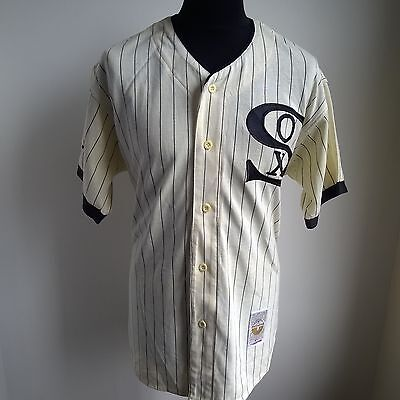 Chicago White Sox Mlb Baseball Shirt Cooperstown Collection Starter Size Adult L
