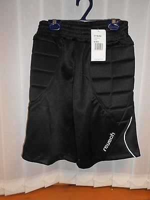 Brand New Reusch Cotton Bowl Shorts 3118202 Compression Padded Goalkeeper Size S