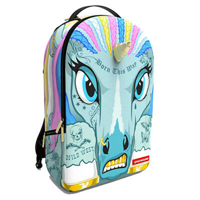 Sprayground Unicorn Bag Unisex Bags Multicolour
