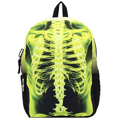 Mojo Yellow Xray Ribs Unisex Bags Black Yellow