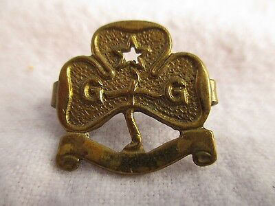 Vintage Girl Guide Brass Badge - Wylie 671782