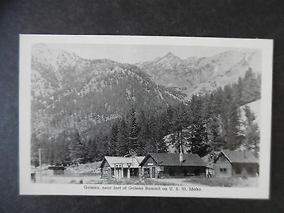 ca1950 Galena Idaho Gas Station & Store Postcard