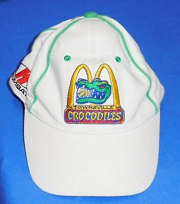 Retro Official NBL Townsville Crocodiles  Basketball Cap Hat Kombat One Size fit